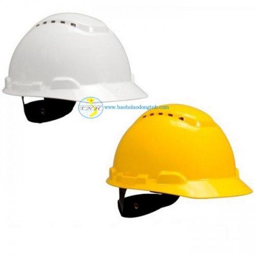 Mũ nhựa 3M - Mỹ có lỗ thoáng khí - ABS